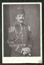 Enver Pascha Pasha Uniform Ottoman Turkey 1916