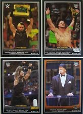 WWE 2015 ROAD TO WRESTLEMANIA Trading Card Set of  110 Cena ● Paige ●  Reigns