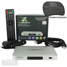 DigiXstream DX4 Plus Octo Core Kodi HDTV Android Box Digistream DX4+ & Keyboard