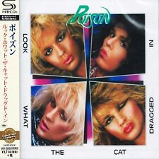 Poison - Look What The Cat Dragged In - Japan Jewel Case SHM CD - UICY-25533