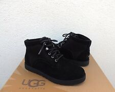 UGG BETHANY CLASSIC SLIM BLACK SUEDE/ SHEEPSKIN BOOTS, US 12/ EUR 43 ~ NEW