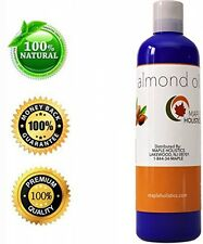 Pure Sweet Almond Oil For Skin, Face and Hair - Best Massage and Aromatherapy -