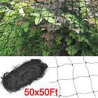 """Bird Netting 50' X 50' Net Netting Aviary Game Poultry Bird 2.4"""" x 2.4"""" Mesh"""