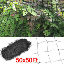50' X 50' Plant Garden Bird Netting Net Game Bird Poultry Pen Fruit Protect Anti