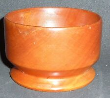 SMALL HAND TURNED HUON PINE BOWL 6 cm high