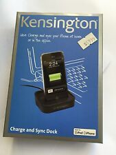 "Charge and Sync Dock ""Made for iPhone iPod"" in Black by Kensington K39257US BNIB"