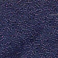 Metallic Midnight Purple Delica Miyuki 11/0 Seed Beads 7.2 Grams