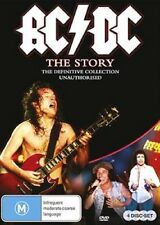AC/DC THE STORY : DEFINITIVE COLLECTION (4 Disc) -  DVD - UK Compatible - sealed
