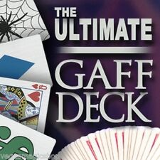 Ultimate Gaff Deck Kit Bicycle Gimmicked Card Deck Playing Cards Instruction DVD