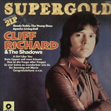 "12"" DLP Cliff Richard & The Shadows Supergold (Living Doll, Ready Teddy)"