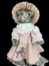 Signed Kaylee Nilan Beaver Valley Jointed Ashley Cat Kitty 1988 Limited Ed 10/25
