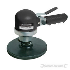 "HEAVY DUTY SILVERLINE 6"" 150MM AIR ORBITAL SANDER DUAL ACTION SANDER POLISHER"