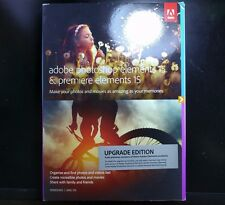 Adobe Photoshop & Premiere Elements 15 for Windows & Mac *** Upgrade Edition ***