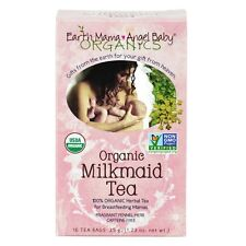Earth Mama Angel Baby Organic Milkmaid Tea - Breastfeeding, 16 Teabags