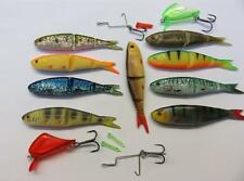 14pc Savage Gear soft 4Play Swim & Jerk kit lipscull 9.5cm 8.5g fishing lures