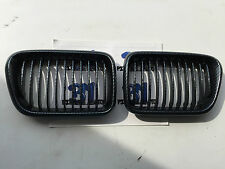 GRILLES CALANDRE BMW E36 LOOK CARBONE PHASE 2 96-99 COUPE BERLINE CABRIOLET