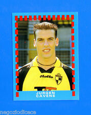 FOOTBALL 2000 BELGIO Panini-Figurina -Sticker n. 3 - JURGEN CAVENS -New