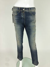 Miss Sixty New Women's Giulia Boy Jeans W25 L30 Retail 170 £ Color Blue