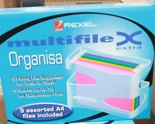 Rexel Multifile extra organiser for desk or shelf. Perfect for your home filing.