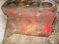 Farmall 300 utility tractor original IH engine motor 4 cylinder gas block C-169