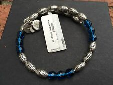 NEW ALEX and ANI VINTAGE 66 Midnight NOUVEAU Crystal Beaded WRAP BRACELET ��