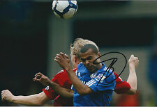 Ashley COLE Signed Autograph 12x8 Photo AFTAL COA Chelsea England Defender ROMA