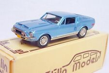 Brooklin Models 1:43 FORD MUSTANG SHELBY GT 500 FASTBACK 1968 BRK24 Car MIB`85!