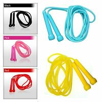 Plastic Skipping Ropes PVC Speed Jump Rope Fitness Exercise Workout Jumping