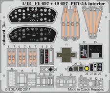 Eduard PE 49697 1/48 Consolidated PBY-5A Catalina  Interior Revell C
