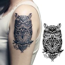 Temporary Tattoo Hand Painted Owl Tattoo Stickers Waterproof Tattoo Stickers CNU