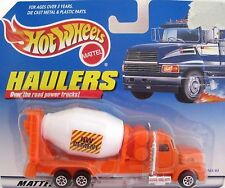1997 Mattel Hot Wheels Haulers Cement Truck Diecast McDonalds MIP
