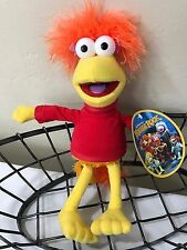 "Collectible Jim Henson's Fraggle Rock RED 12"" Plush Doll - Nanco approx 2006"