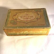 Vtg Demuth`s Golden Lion Cigar Box FX Smith`s Sons Co McSherrystown PA 10 Cents