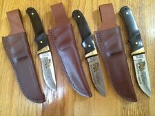 3 (THREE) SCHRADE USA PH1 HUNTER KNIFE LIMITED EDITI0N ROOSEVELT AMERICAN LEGEND