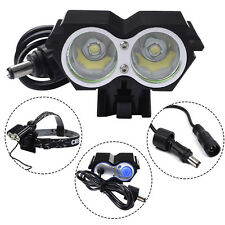 5000 Lumens 2 x CREE XM-L U2 LED Cycling Bike Bicycle Headlight Light HeadLamp