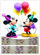 3DChildren Stereoscopic Mickey&Minnie Stickers -  Lot Of 6 kids favor party gift