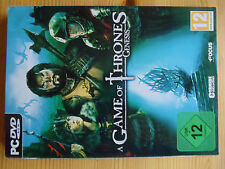 A Game Of Thrones: Genesis (PC, 2011, DVD-Box)