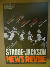 Fortune Theatre & BBC Light Entertainment's- Strode Jackson NEWS REVUE