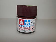 Tamiya Color Acrylic Paint Hull Red #XF-9 (23 ml) NEW