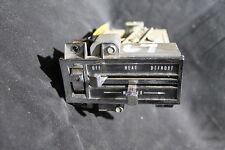 67 68 Cadillac Deville Eldorado Fleetwood Heater De-Ice De-Defog Control Switch