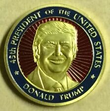 Donald Trump President Inauguration Presidential Seal Souvenir Coin Very Elegant