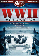 Wwii Chronicles-day By Day Diary [dvd] [4 Dvd Slimline] (Platinum Disc)
