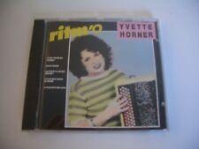 YVETTE HORNER CD RITM'O.  CBS 460980 2. MADE IN AUSTRIA.