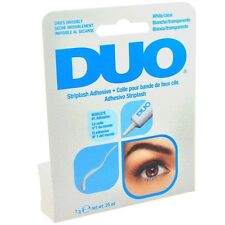 DUO Eyelash Adhesive White/Clear 0.25oz 7g For Strip Lashes #568034