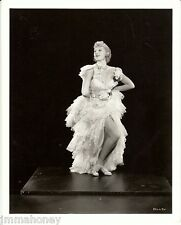 JUNE KNIGHT Leggy Showgirl ORIGINAL Vintage CLARENCE BULL Stamped Portrait PHOTO