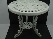 "Vintage Cast Iron Doll Table Plant Stand 8"" Tall Stampinsisters"