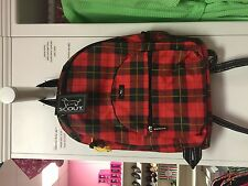 NWT Scout Big Draw School And Lacrosse Backpack - Red Print (compare To $52)