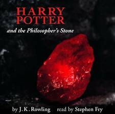 Harry Potter & the Philosopher's Stone K. Rowling Nar' By Stephen Fry Audio Book