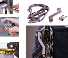 High Quality functional carabiner Key organizer holder multi pocket smart tool