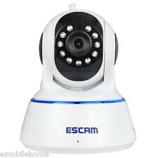 ESCAM-QF002 IP Camera WIFI 720P P2P Night Vision Support Android IOS EU PLUG